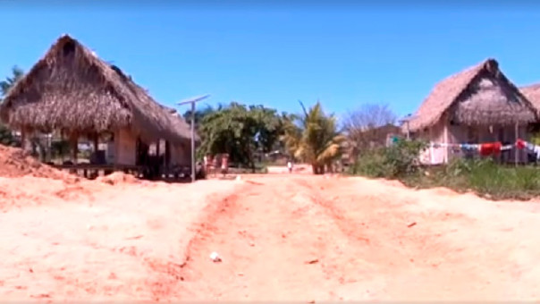 Comunidad nativa Santa Teresita, en Madre de Dios.