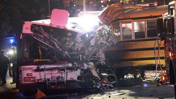 MUNDO: 48 personas mueren en triple accidente de tránsito