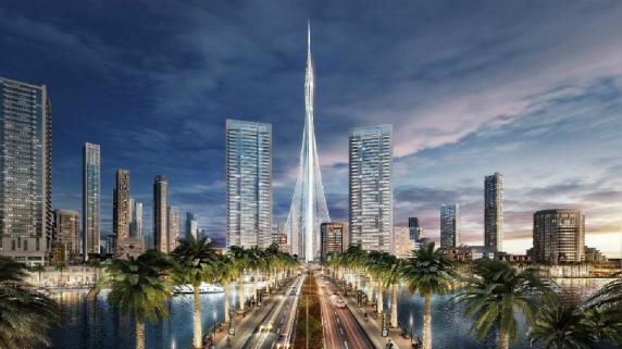 Estos son los planes para la torre Calatrava.