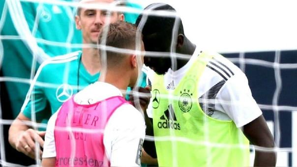 Kimmich y Rudiger fueron separados por el exjugador Miroslav Klose.