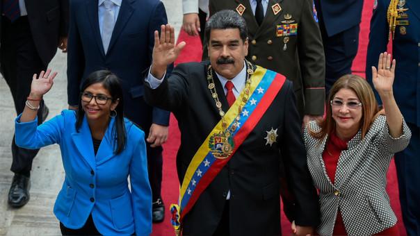 VENEZUELA-POLITICS-MADURO-INAUGURATION
