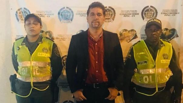 Policía colombiana detiene a congresista electo con 160 gramos de cocaína