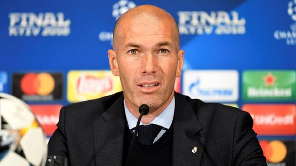 Zidane ganó tres Champions League como técnico del Real Madrid.