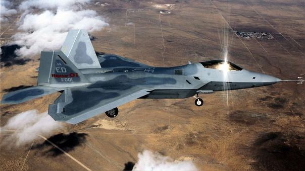 Un avión de las fuerzas rusas