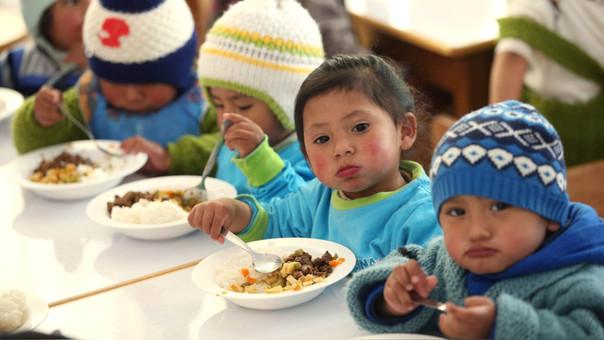 El INEI también reportó que la desnutrición crónica afectó al 12.9% de la población menor de cinco años de edad en el 2017.