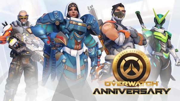 Overwatch acaba de cumplir 2 años de vida.