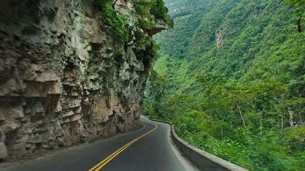 Vía a Chachapoyas