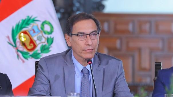 Martín Vizcarra anunció medidas contra la violencia a la mujer.