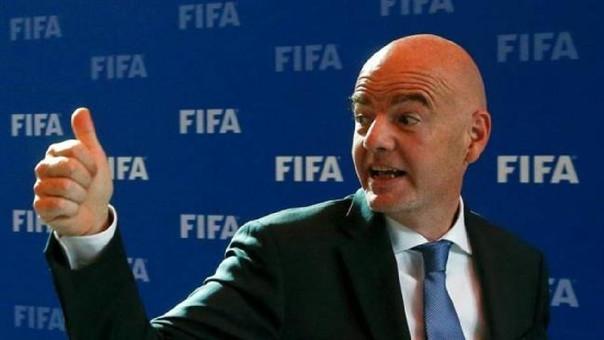 Gianni Infantino preside la FIFA desde febrero del 2016.