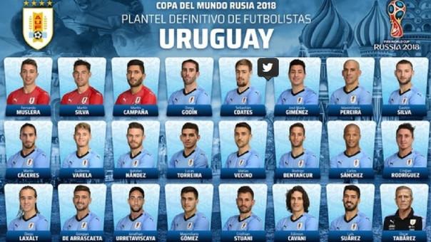Selección de Uruguay.
