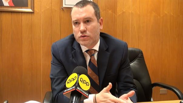 Viceministro de Economía César Liendo renunció al cargo.