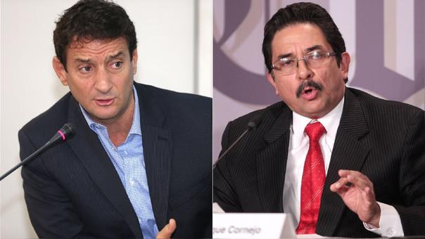 Renzo Reggiardo fue congresista entre 2006 y 2016, mientras que Enrique Cornejo fue ministro de Transportes (2007-08) y de Vivienda (2008-11) en el segundo gobierno de Alan García (2006-11).