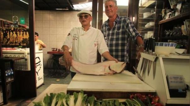 El reconocido chef y crítico estadounidense visitó nuestro país con su programa