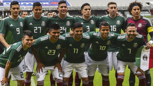 El equipo mexicano que venció el sábado pasado a Escocia.