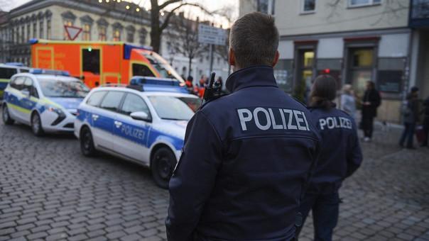 Policía alemana (referencial).