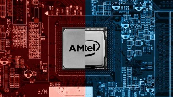 Ambas compañías presentaron nuevos procesadores.