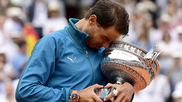 Rafael Nadal alcanzó su título 17 de Grand Slam.