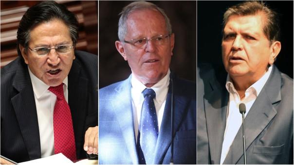 Tres expresidentes están bajo investigación preliminar.