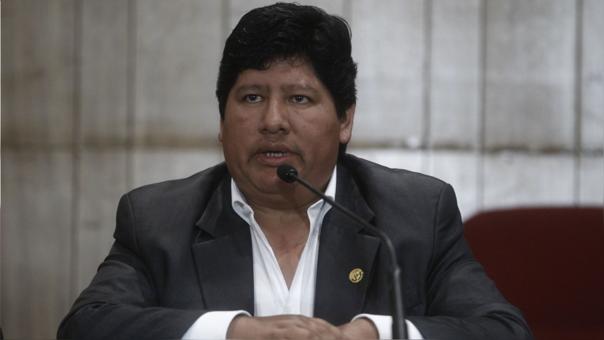 Edwin Oviedo, presidente de la Federación Peruana de Fútbol.