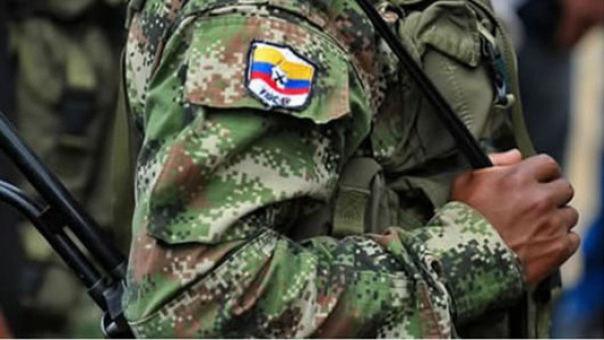 Diez disidentes de la exguerrilla de las FARC murieron en un bombardeo. | Fuente AFP