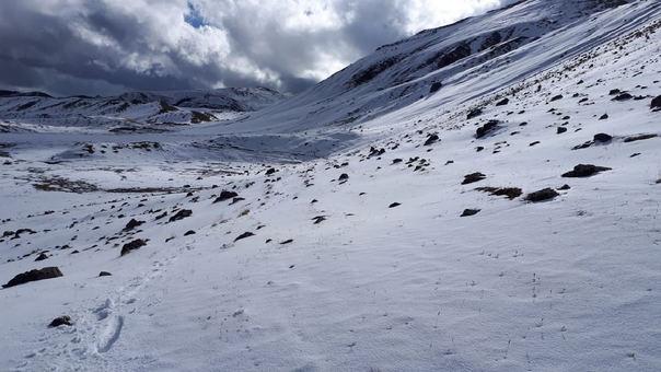 Nevada en Cusco