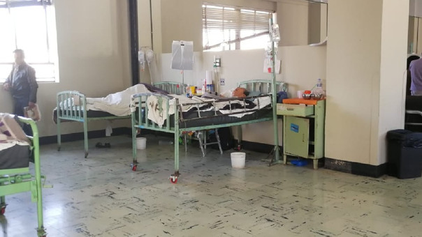 Crisis del hospital Honorio Delgado