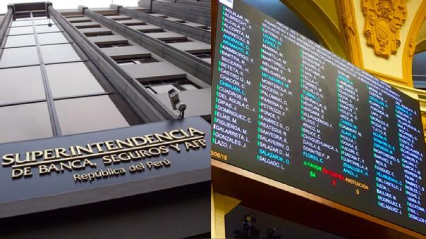 Con 92 votos se aprobó el proyecto que modifica Ley General del Sistema Financiero y del Sistema de Seguros y Orgánica de la SBS.