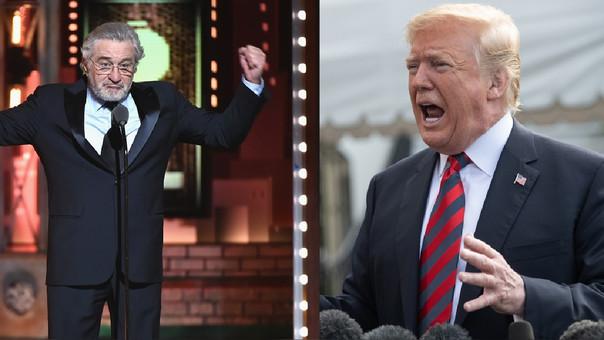 Robert de Niro y Trump