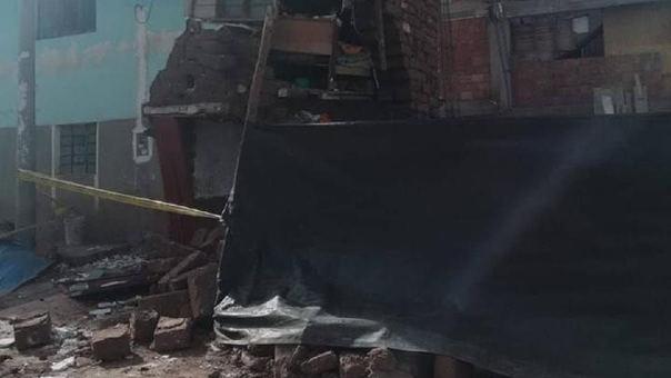 Casa colapsó en Cusco