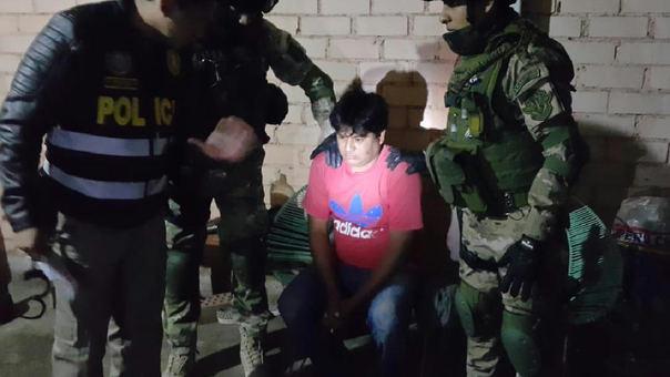 Otro de los detenidos durante el megaoperativo iniciado a las 3 de la madrugada de este jueves 14