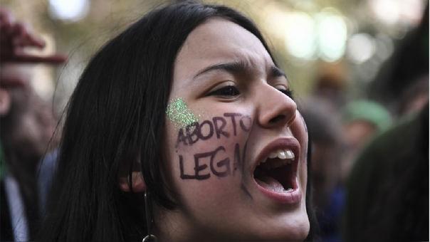 Protestas por la legalización del aborto