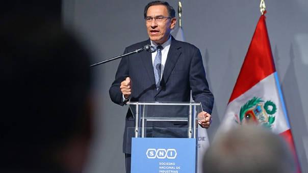 Martín Vizcarra interpondrá recurso para anular Ley de Publicidad Estatal.