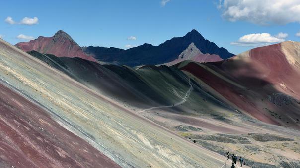 Cusco: montaña de los siete colores forma parte de concesión minera