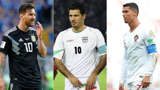 Ali Daei supera cómodamente las marcas de Lionel Messi y Cristiano Ronaldo con sus selecciones.