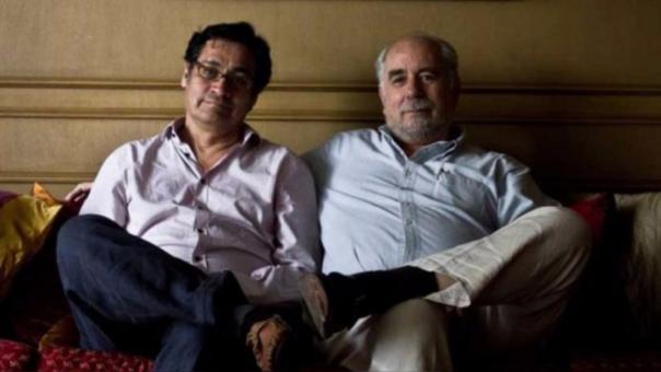 Óscar Ugarteche y Fidel Aroche Reyes