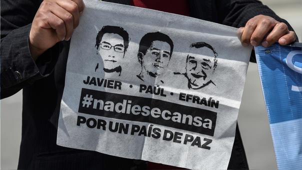COLOMBIA-ECUADOR-KIDNAPPING-PRESS-REMAINS