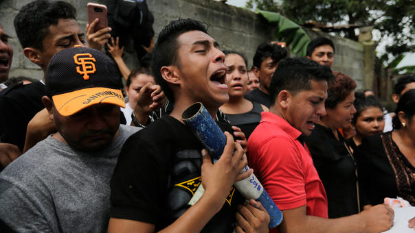 NICARAGUA-UNREST-OPPOSITION-FUNERAL