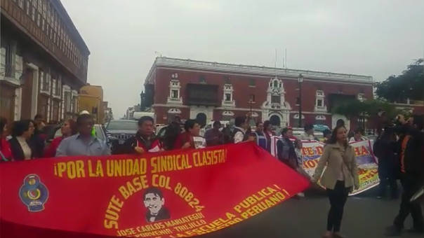 Huelga maestros