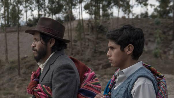 Amiel Cayo y Junior Béjar protagonizan la cinta hablada en quechua.