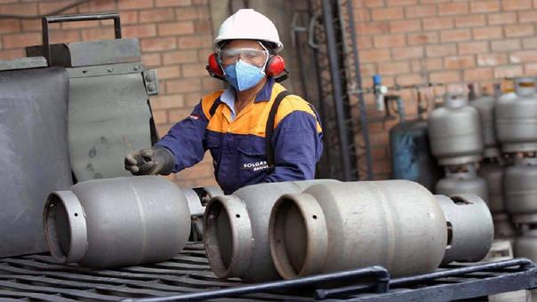 El Opecu señaló que son 55 marcas del balón de gas doméstico de 10 kilos se comercializan en 556 locales de venta 38 distritos de Lima, según el programa Facilito del Osinergmin.