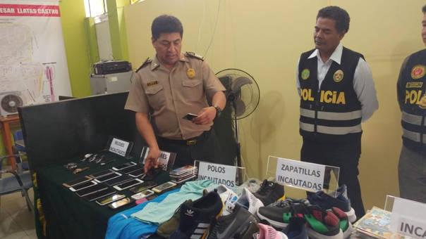 Mercadería de contrabando