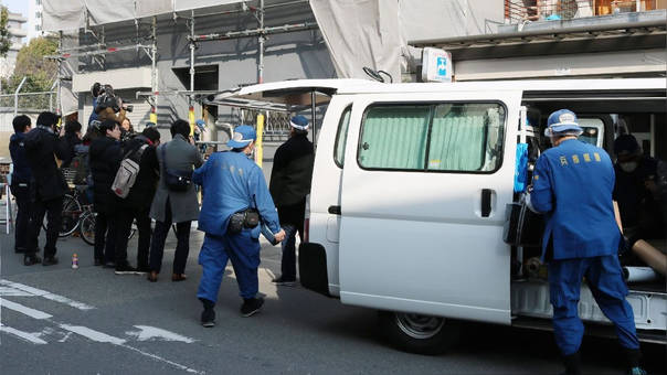 La Policía detuvo al sospechoso del asesinato.