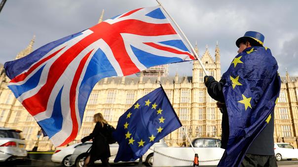 El Reino Unido promulgó la ley de salida de la Unión Europea