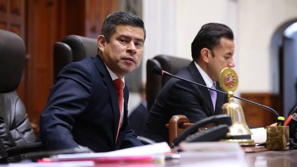 Galarreta aseguró que ya cuentan con el dinero para inaugurarlo antes de que en julio termine su mandato al frente del Parlamento.