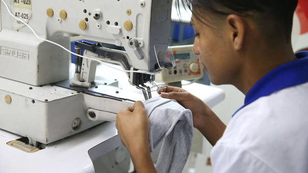 El avance del empleo en el sector servicios se debió al desempeño favorable de las sub ramas enseñanza y servicios prestados a empresas.