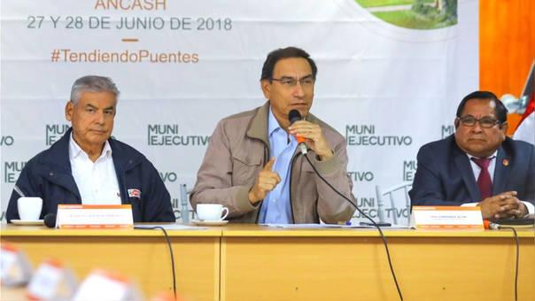 Martín Vizcarra cumplió en junio tres meses como presidente.
