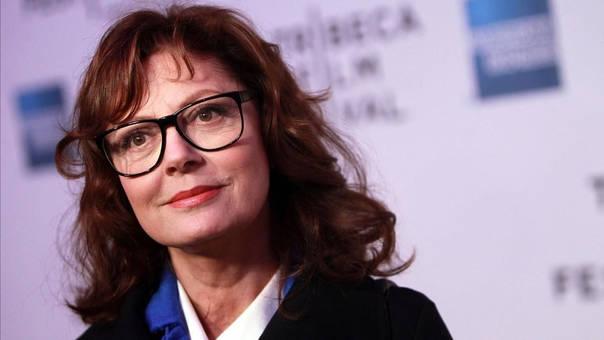 Susan Sarandon es actriz y activista política.