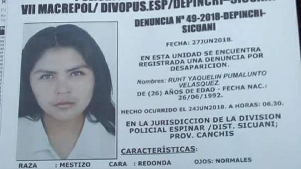 mujer muerta en Cusco