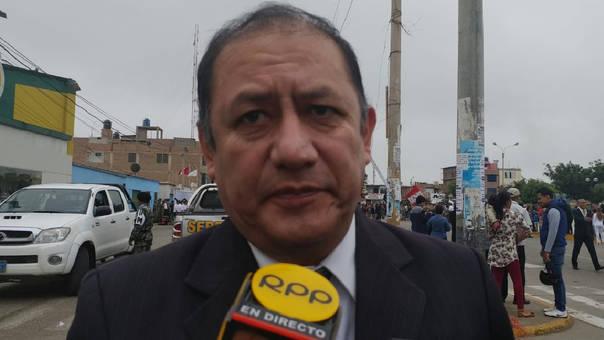Gerente de Salud, Pedro Cruzado Puente