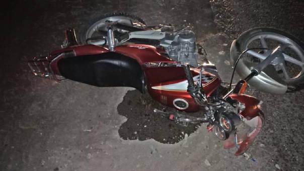 Trágico accidente